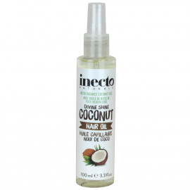 INECTO Shine Enhancing GLOSSING SPRAY PURE COCONUT