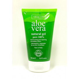 Natural Gel Aloe Vera pure 100%, Cactus Care