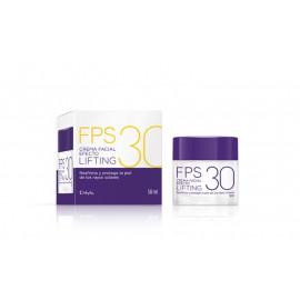 DELIPLUS Crema hidratante facial efecto lifting FPS30