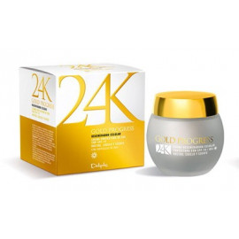 DELIPLUS Crema de día Gold Progress 24K