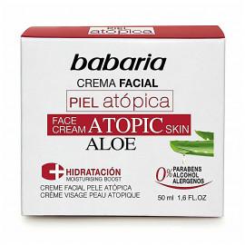 Crema Facial Piel Atópica Aloe, BABARIA