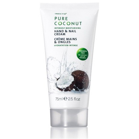 INECTO Intensely Moisturising Hand & Nail Cream PURE COCONUT