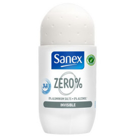 Roll-on deodorant Sanex Zero% 24H Invisible