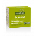 ANTI-WRINKLE NIGHT CREAM WITH OLIVE OIL, BABARIA