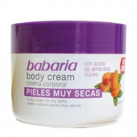 BODY CREAM SWEET ALMOND OIL, BABARIA