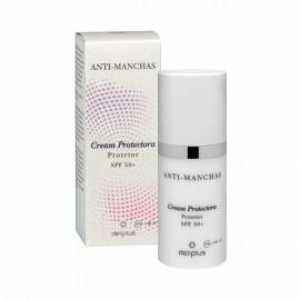 Crema facial día Protectora Anti-manchas, Deliplus