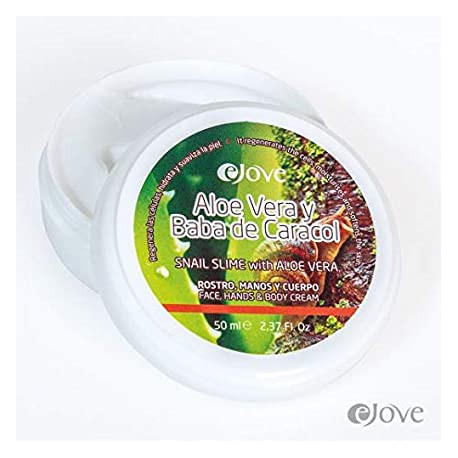Crema Baba de Caracol con Aloe Vera, 200ml, eJove