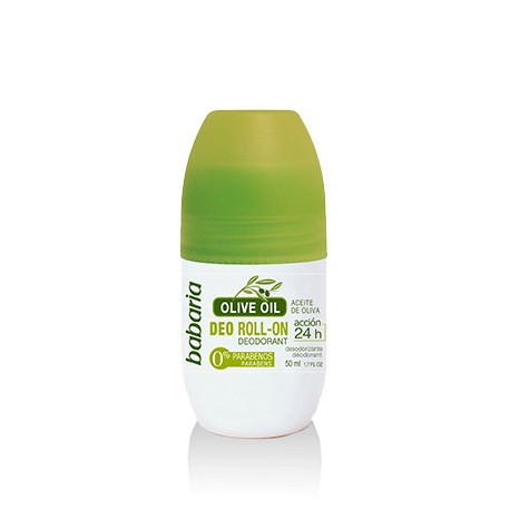 BABARIA ROLL-ON DEODORANT WITH OLIVE OIL