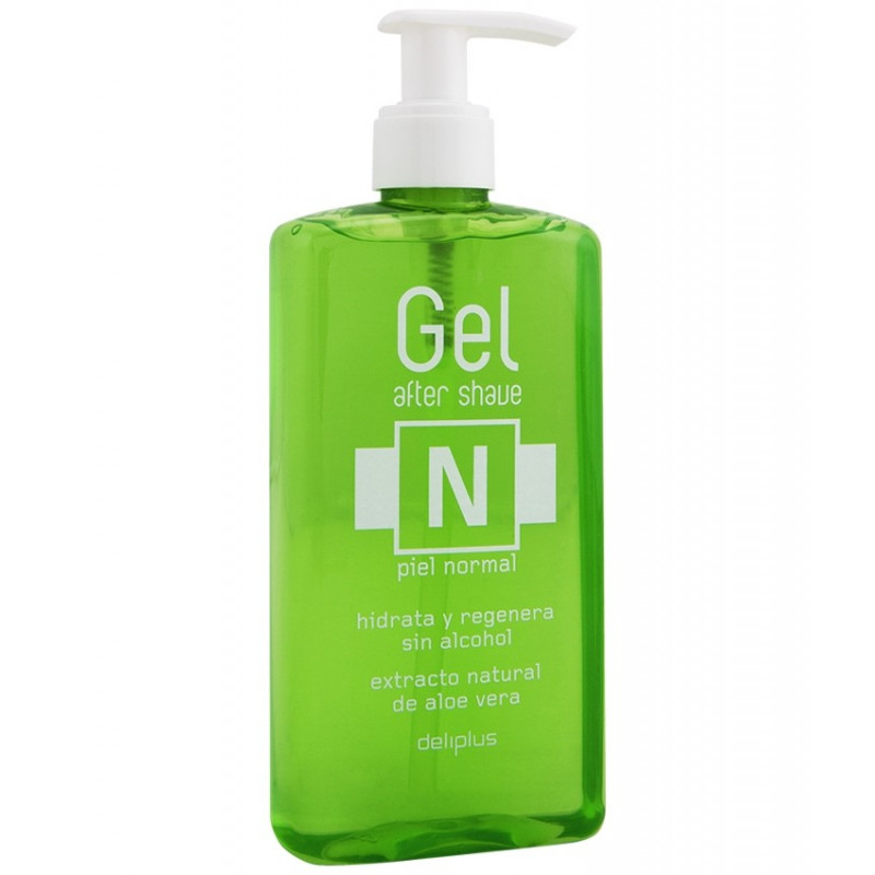Gel After Shave Aloe Piel Normal, Deliplus, 300ml