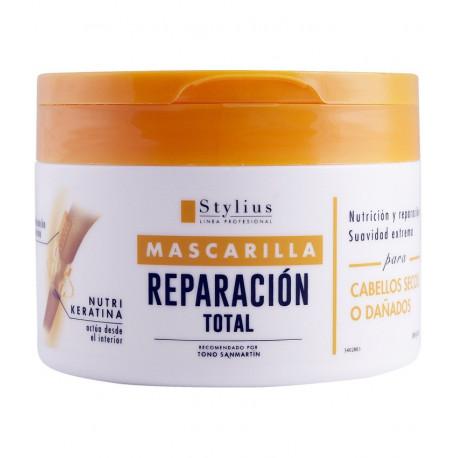 DELIPLUS Mascarilla reparación para cabellos secos y dañados, Stylius