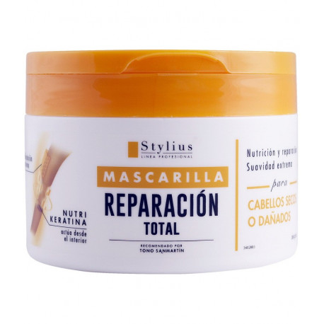 Маска для сухих и поврежденных волос, Stylius