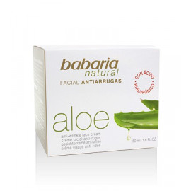 FACE CREAM ALOE ANTI-WRINKLE, BABARIA