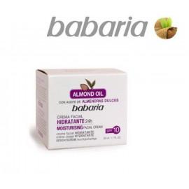 Увлажняющий крем с маслом Миндаля, Babaria