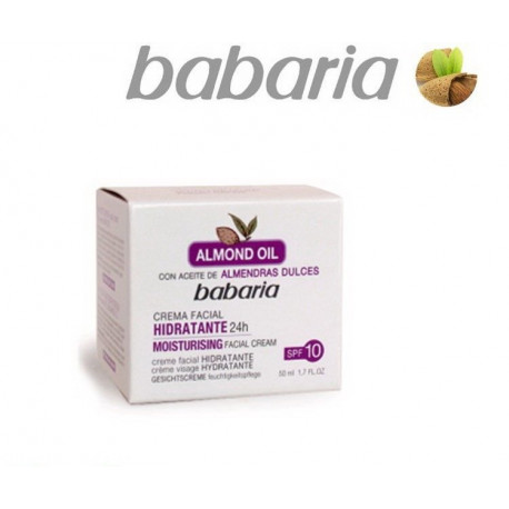 MOISTURISING FACIAL CREAM WITH SWEET ALMOND OIL, BABARIA