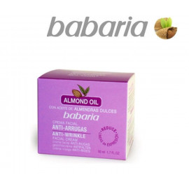 ANTI-WRINKLE FACIAL CREAM WITH SWEET ALMOND OIL, BABARIA