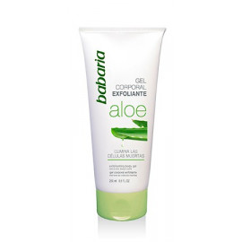 EXFOLIATING BODY GEL SCRUB ALOE VERA, BABARIA